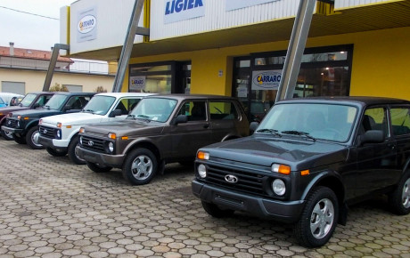 La Lada Niva 4×4 torna in TV con CARRARO AUTOMOBILI!