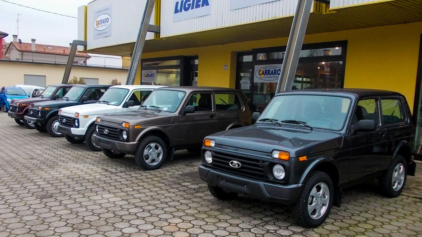 La Lada Niva 4x4 torna in TV con CARRARO AUTOMOBILI!