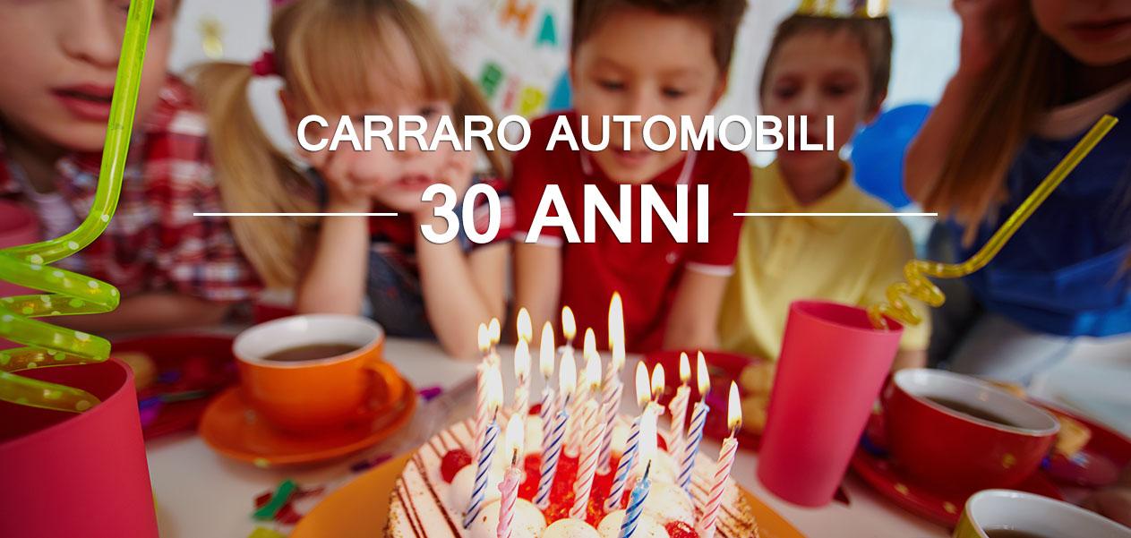 Anniversario Carraro Automobili - 30 anni