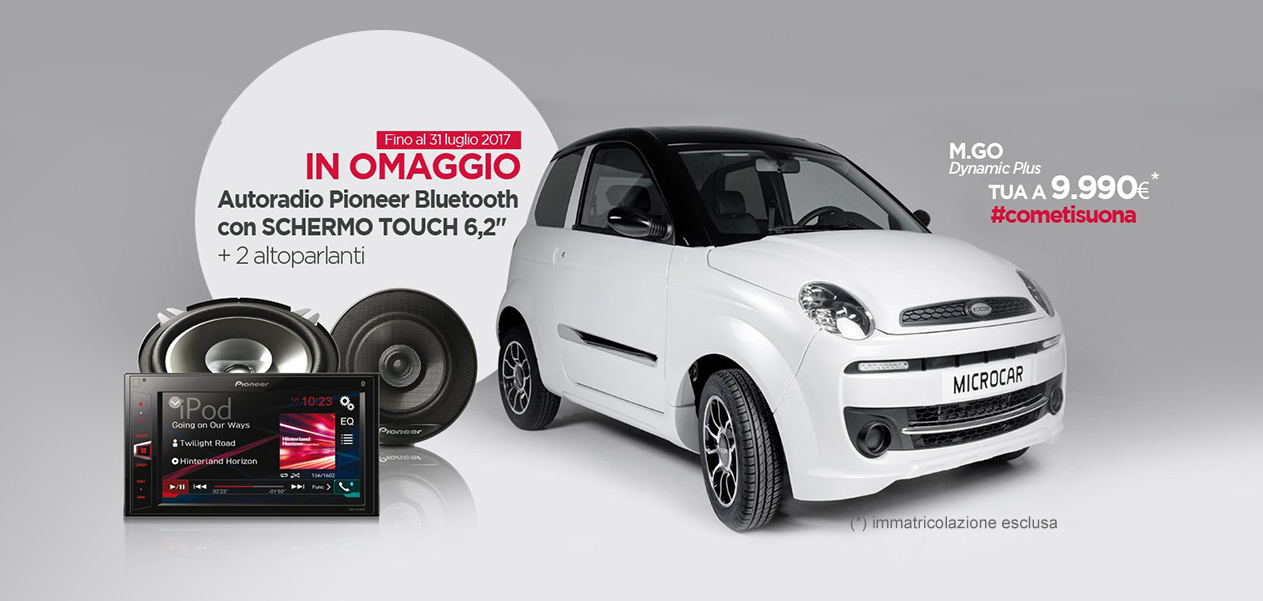 OFFERTA Microcar M.Go Dynamic Plus 2017
