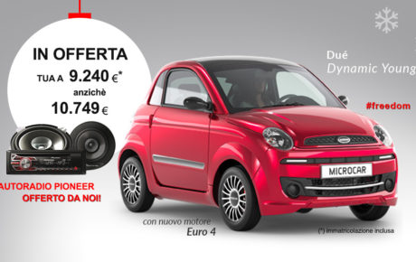 OFFERTA Microcar Dué Dynamic Young Euro 4