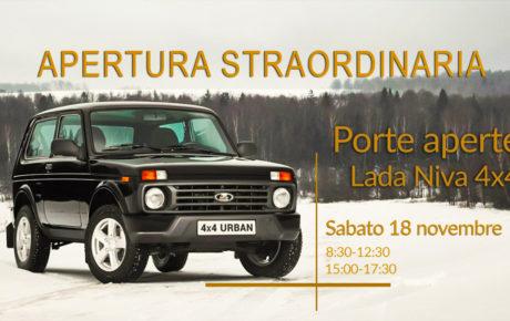 Porte aperte Lada Niva 4×4