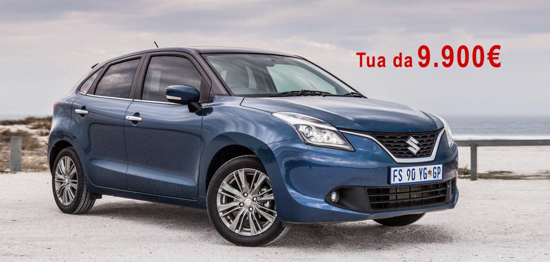 Offerta-Suzuki-Baleno-promozione