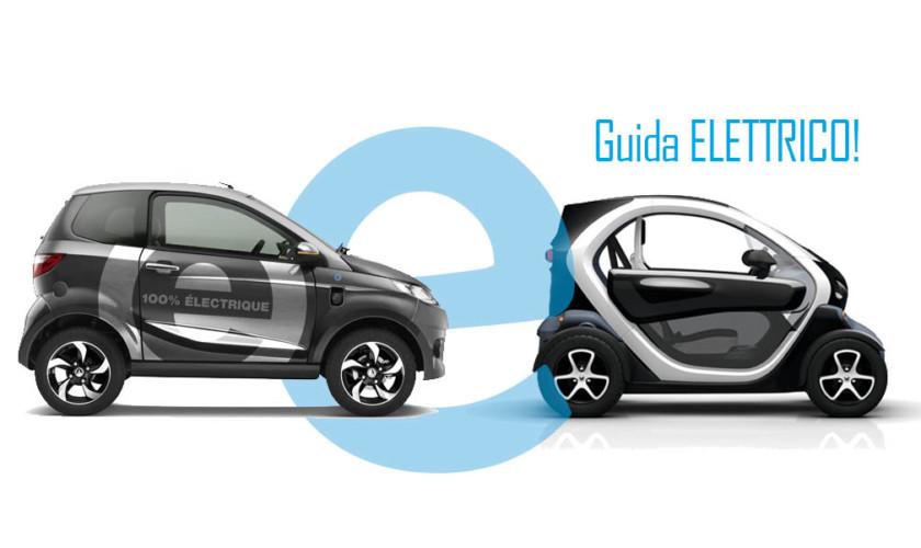 Minicar Elettriche Aixam E Renault Twizy Guida Elettrico