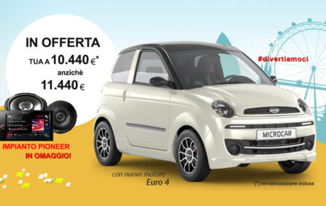 OFFERTA Microcar M.Go 4 Dynamic Plus Euro 4