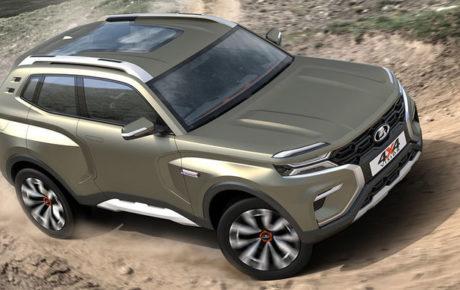 Lada 4×4 Vision: sarà la vera erede della Lada Niva 2018?