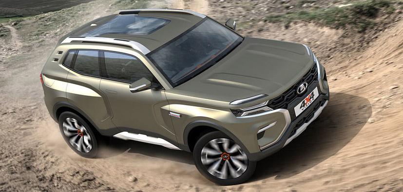 Lada 4x4 Vision: sarà la vera erede della Lada Niva 2018?