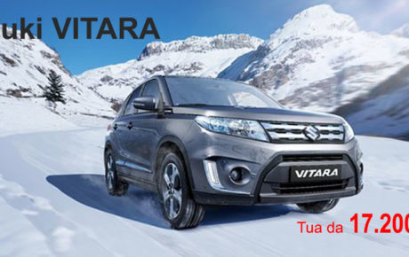 OFFERTE Autunno-Inverno 2018  | Suzuki Vitara