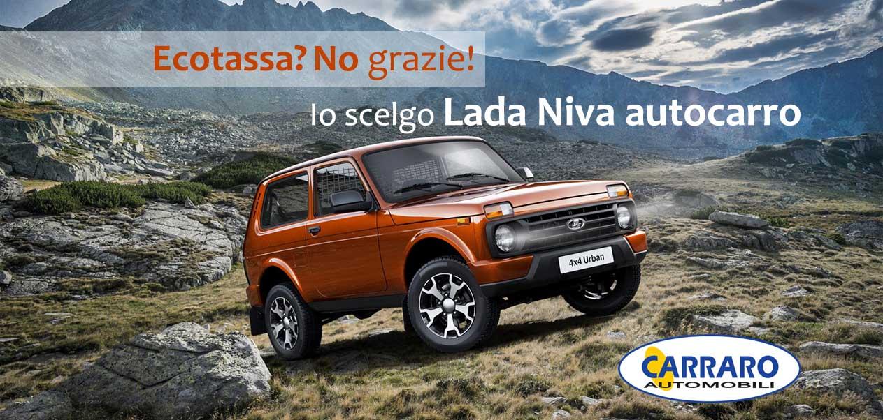 Scegli Lada Niva autocarro 4×4 e non paghi l'ecotassa