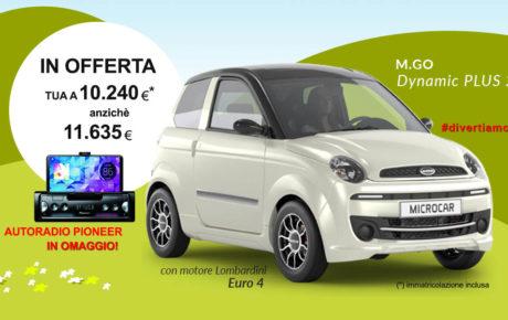 OFFERTA Microcar M.GO Dynamic PLUS 2019