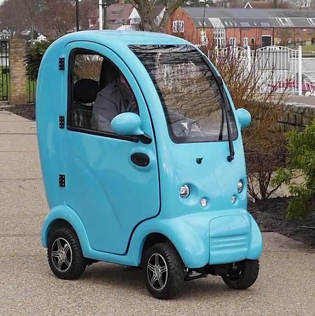 veicoli elettrici - five m1 today sunshine
