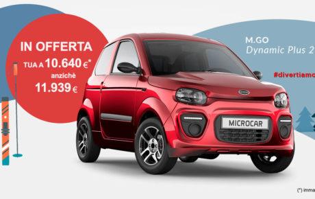 OFFERTA Microcar M.Go PLUS 2020