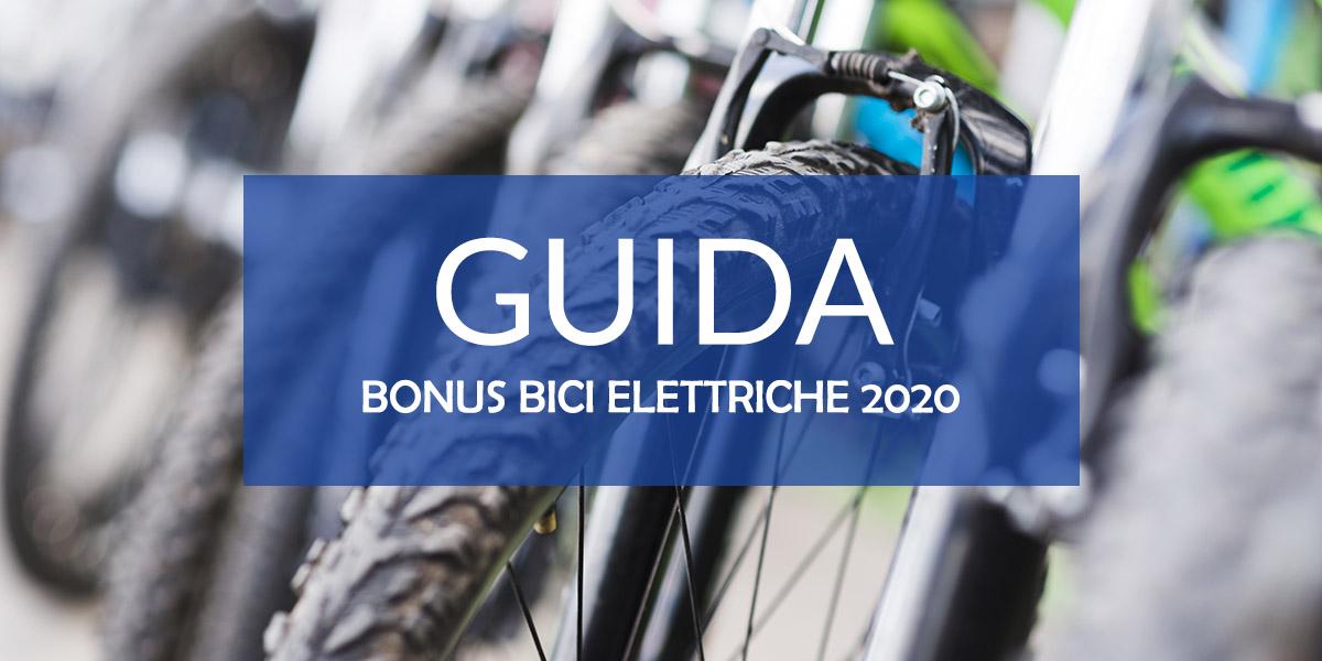 GUIDA AL BONUS BICI ELETTRICHE 2020