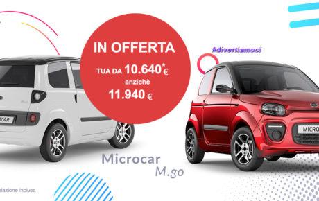 OFFERTA Microcar M.Go 2020