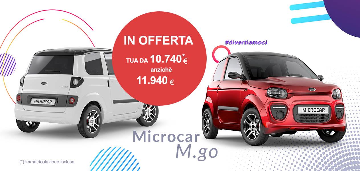 OFFERTA Microcar M.Go 2021